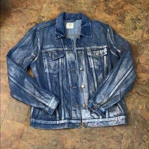 Gap Metallic Jean Jacket
